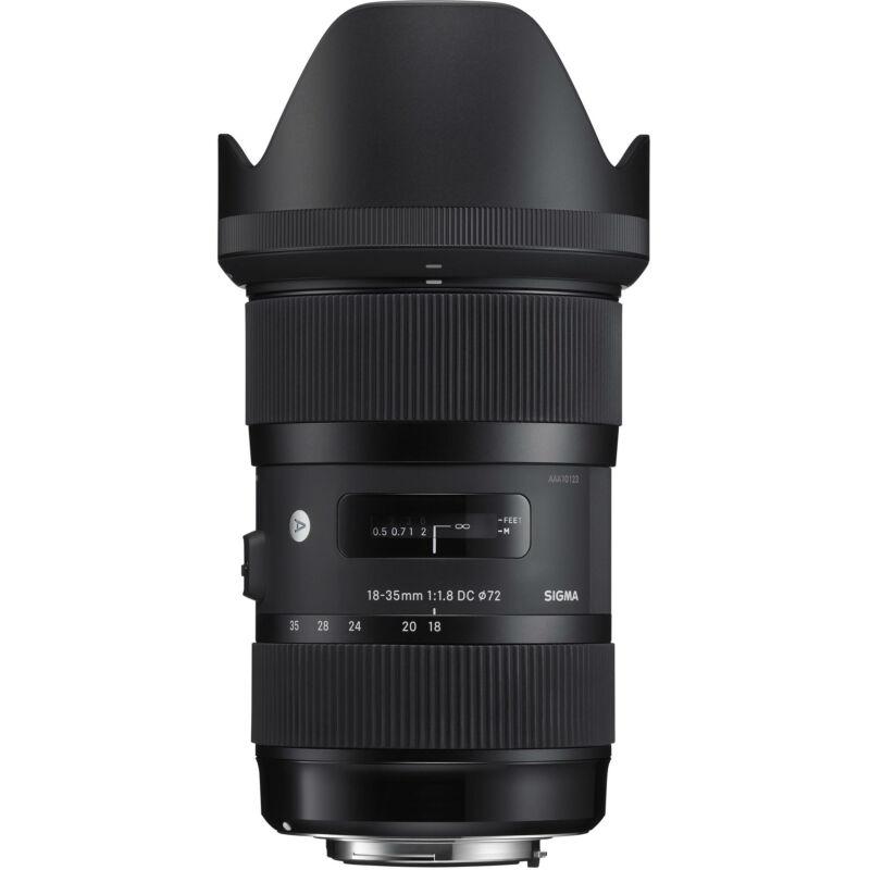 Sigma 18-35mm F/1.8 (A) DC HSM - SONY A