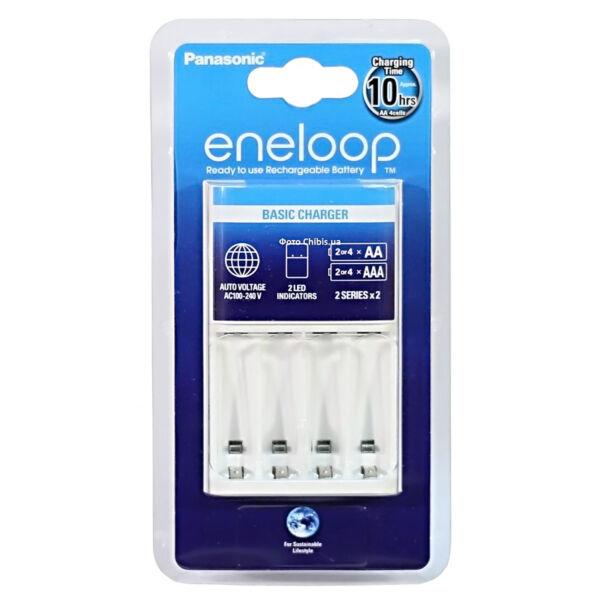 Eneloop 10 órás időzítős akkutöltő 2/4 db AA/AAA