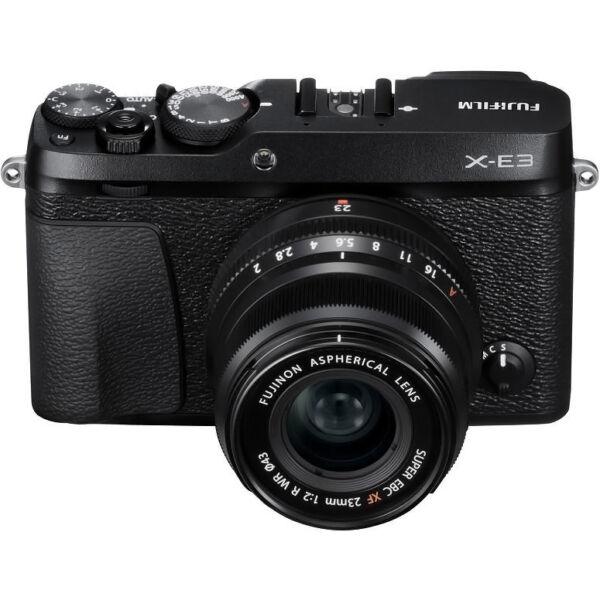 Fujifilm X-E3 Fekete + XF 23mm f/2 objektív
