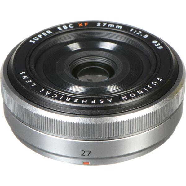 Fujinon XF27mm F2.8 - Ezüst