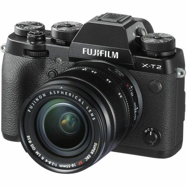 Fujifilm X-T2 + XF 18-55mm F/2,8-4 R LM OIS - Fekete