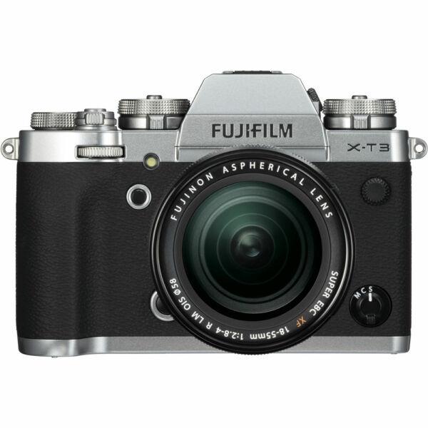 Fujifilm X-T3 + XF 18-55mm F/2,8-4 R LM OIS - Ezüst