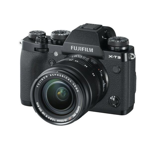 Fujifilm X-T3 + XF 18-55mm F/2,8-4 R LM OIS - Fekete