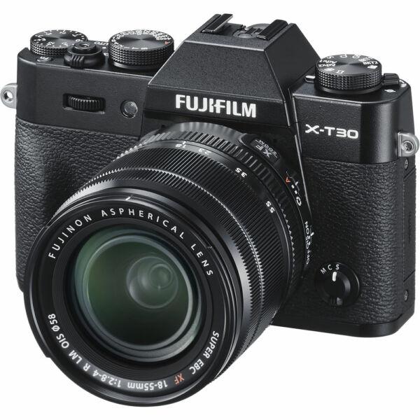 Fujifilm X-T30 + XF 18-55mm F/2,8-4 R LM OIS - Fekete