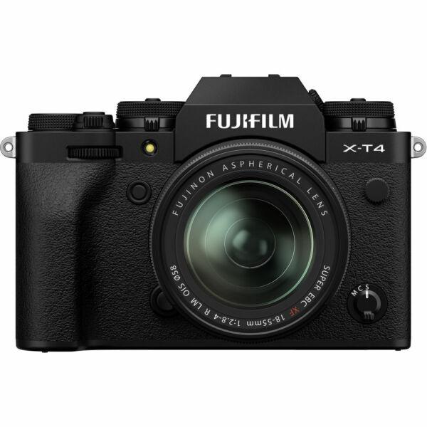 Fujifilm X-T4 + XF 18-55mm F/2,8-4 R LM OIS - Fekete