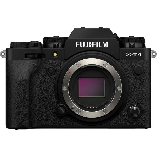 Fujifilm X-T4 váz + SDXC 64GB kártya - Fekete