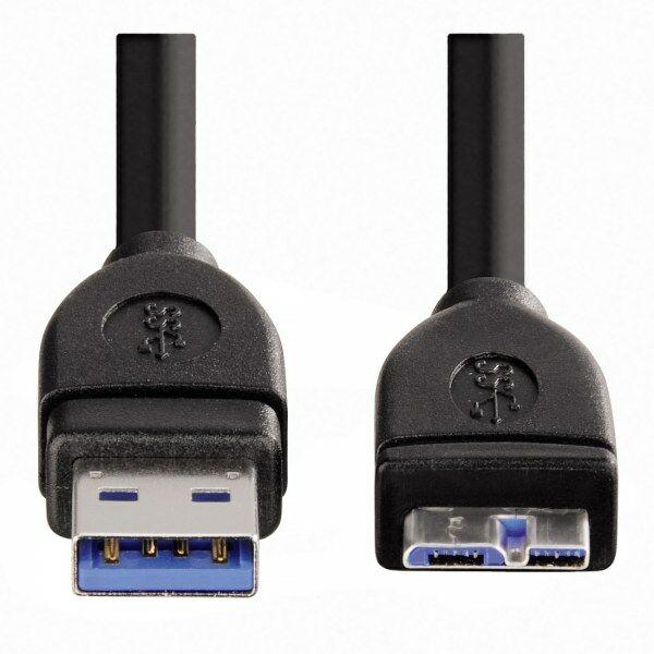 Hama USB-A - Micro USB-B 3.0 1,8M USB kábel