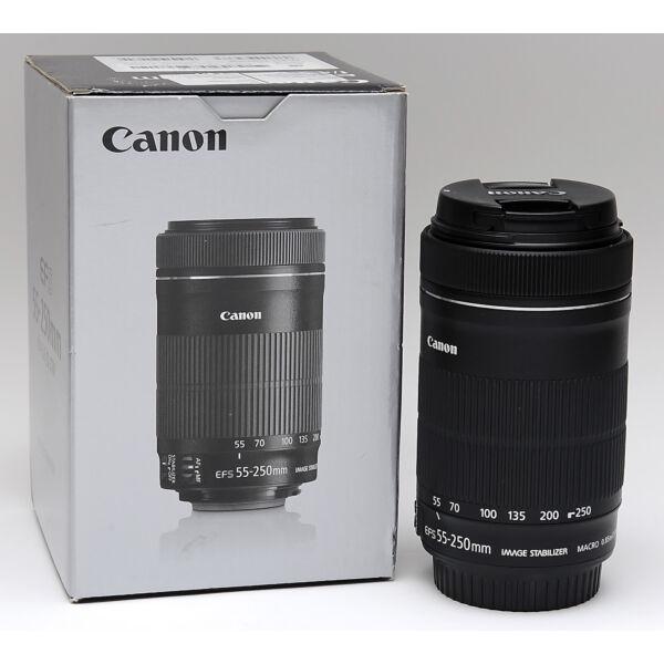 Canon EF-S 55-250mm F/4-5.6 IS STM Használt