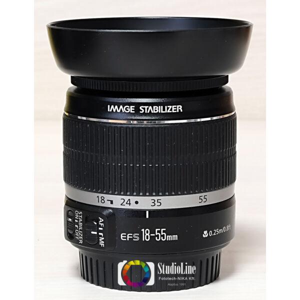 Canon EF-S 18-55mm F/3.5-5.6 IS (HIBÁS) Használt
