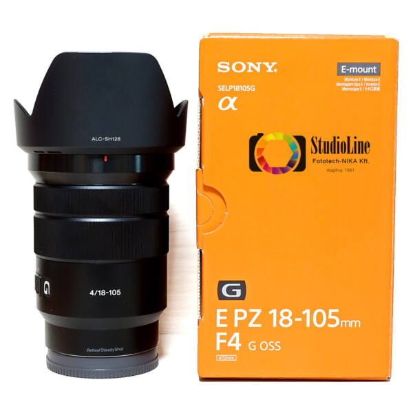 Sony E 18-105mm F/4 G PZ OSS (SELP18105G) Használt