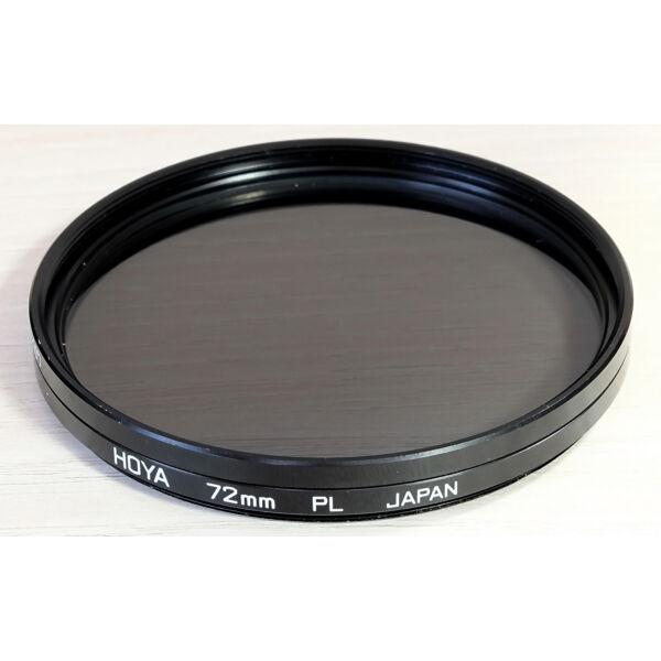 Hoya 72mm Lineáris Polár szűrő - Használt