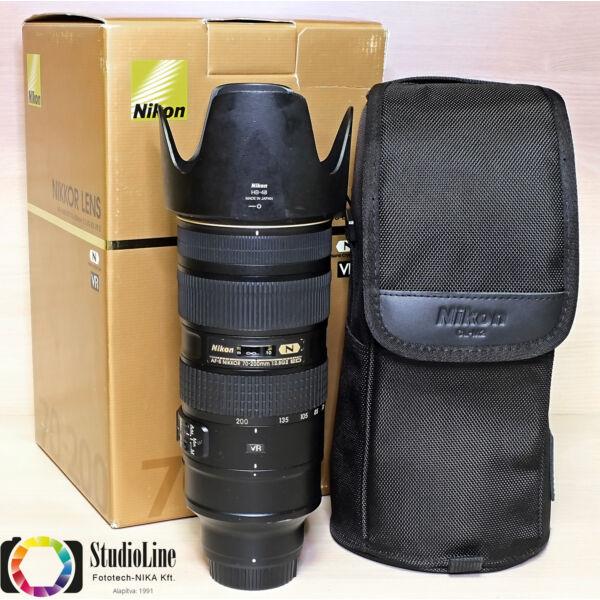Nikon AF 70-200mm F/2.8 G ED VR II - Használt