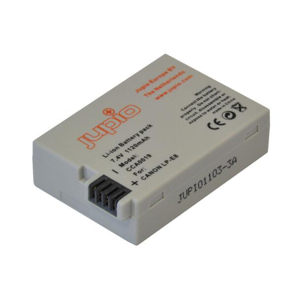 Jupio Canon LP-E8 1120 mAh akkumulátor