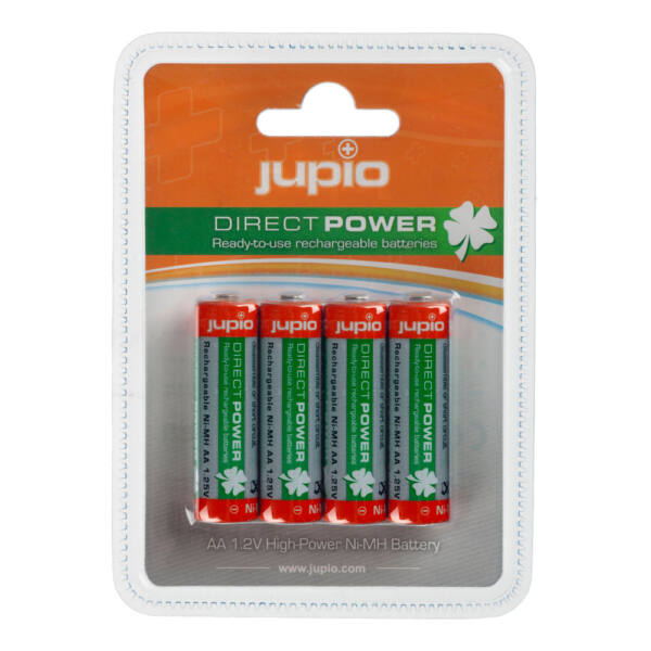 Jupio Direct Power AA Ni-MH 2100 mAh akkumulátor 4db