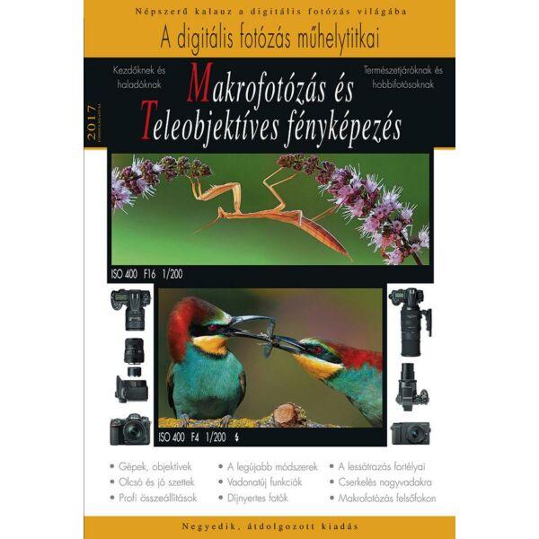 Könyv - Makrofotózás és teleobjektíves fényképezés – 2017