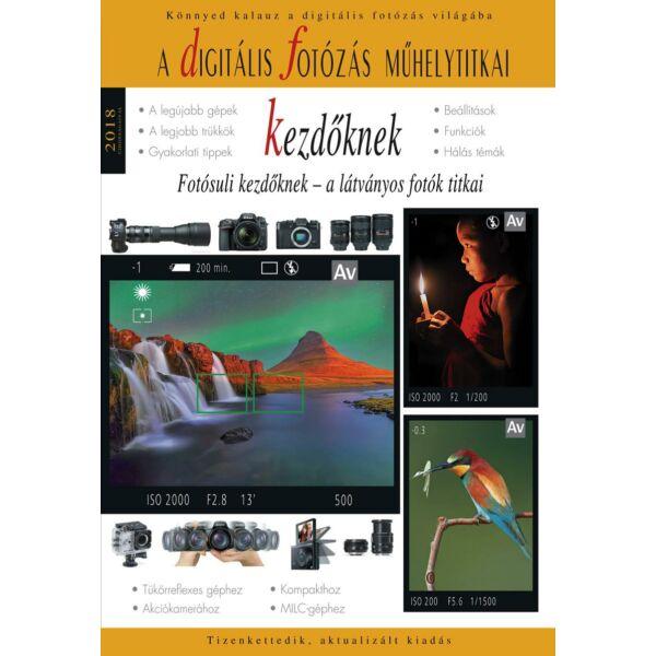 Könyv - Digitális fotózás kezdőknek - 2018