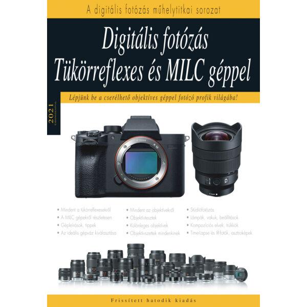 Könyv - Digitális fotózás tükörreflexes és MILC géppel – 2021