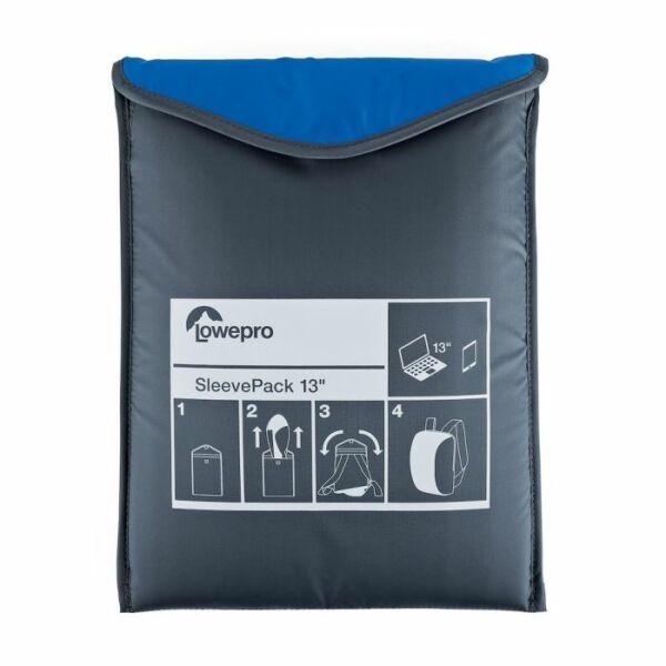 Lowepro Sleevepack 13 Kék - Laptop tok és hátizsák