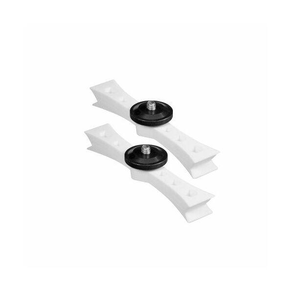 Lume Cube Drone Mounts for DJI Ph3 White