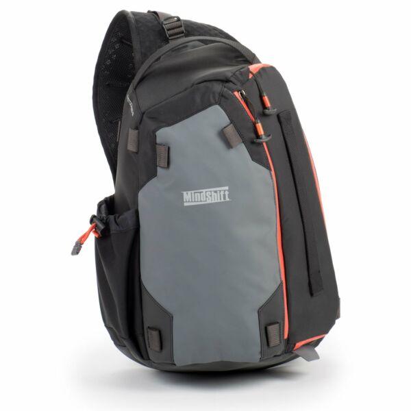 MindShift Gear PhotoCross 10 Szürke-narancs Egyvállas hátizsák