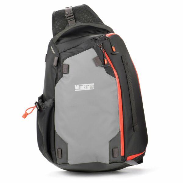 MindShift Gear PhotoCross 13 Szürke-narancs Egyvállas hátizsák