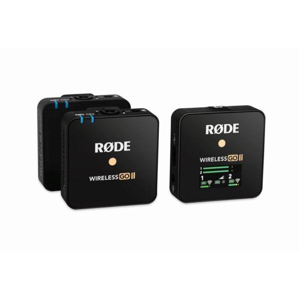 Rode Wireless GO II vezeték nélküli mikrofon rendszer