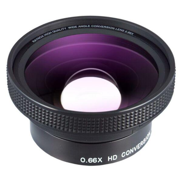 Raynox HD-6600 0.66x nagylátószögű előtétlencse 55mm