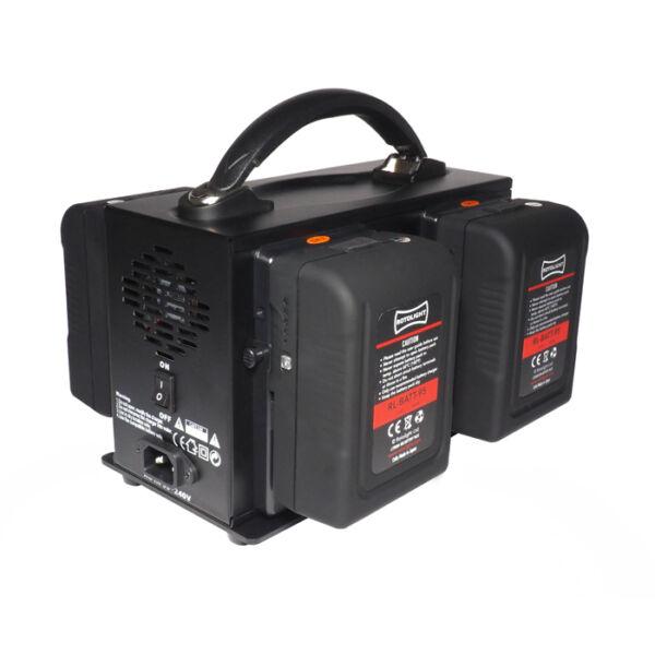 Rotolight 4 csatornás V-Lock akkumulátor töltő