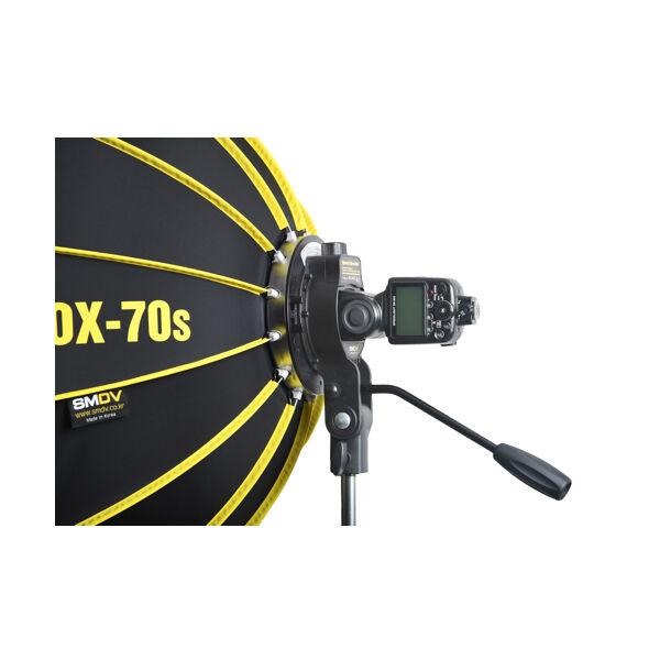 SMDV Speedbox 70S softbox rendszervaku SB-05 tartóval 70cm