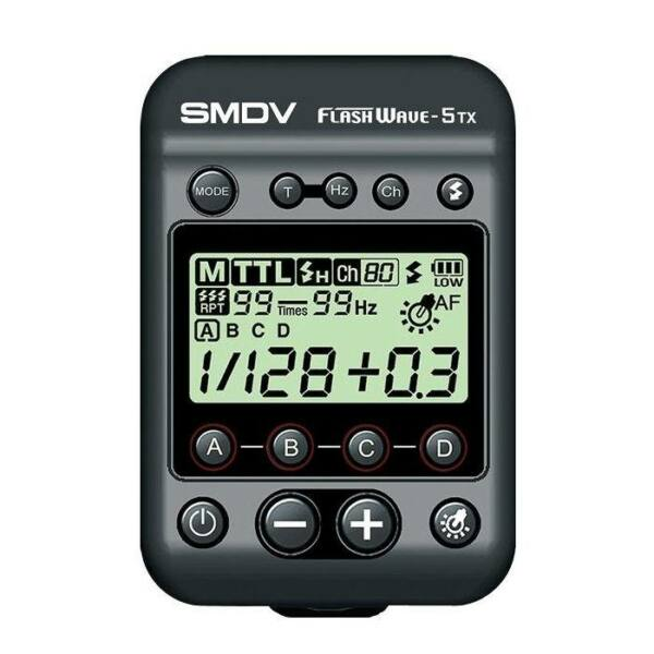 SMDV Flashwave5 TX rádiós vezérlő - Canon