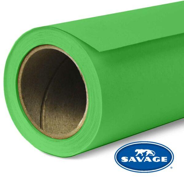 Savage Tech zöld színű papírháttér 2.18x11méter