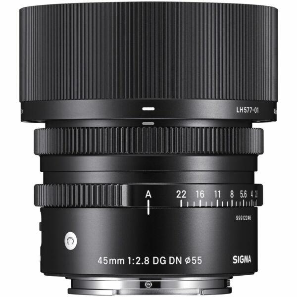 Sigma 45mm F/2.8 (C) DG DN - SONY-E