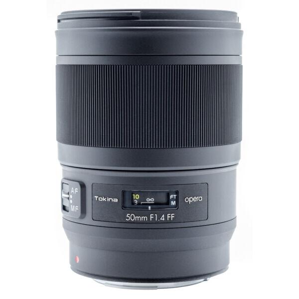 Tokina Opera 50mm f/1.4 FF Canon