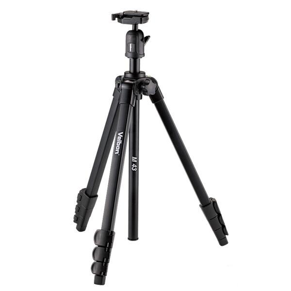 Velbon M43 fotóállvány gömbfejjel