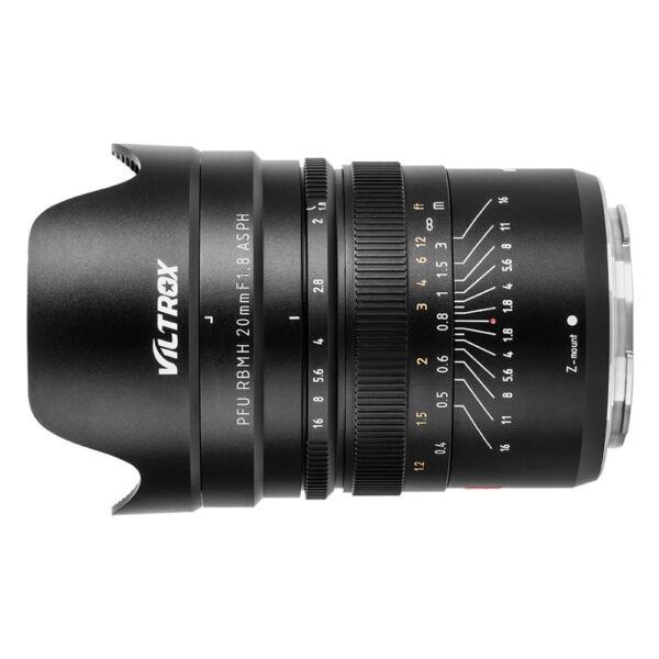 Viltrox PFU RBMH 20MM F1.8 ASPH objektív Nikon Z bajonet