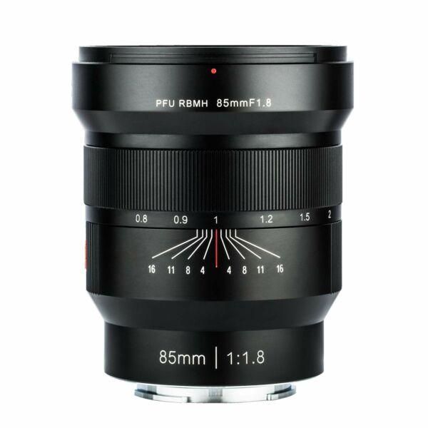 Viltrox PFU RBMH 85mm F1.8 Manuális objektív Sony FE