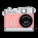 Kenko Toy Camera DSC Pieni  Játék Fényképezőgép Rózsaszín